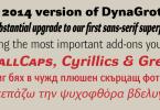 Dynagrotesk Super Family [72 Fonts] | The Fonts Master