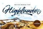 Highlander [2 Fonts] | The Fonts Master