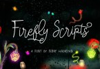 Firefly Script [5 Fonts] | The Fonts Master