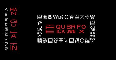 Hangulatin En [1 Font] | The Fonts Master