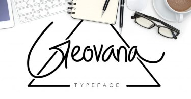 Geovana [1 Font] | The Fonts Master
