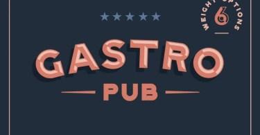 Gastro Pub [6 Fonts] | The Fonts Master