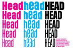 Header [5 Fonts]   The Fonts Master