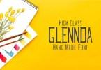 Glennda [5 Fonts] | The Fonts Master