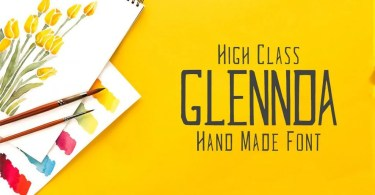 Glennda [5 Fonts] | The Fonts Master