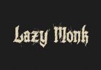 Lazy Monk [1 Font] | The Fonts Master