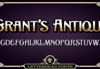 Lhf Grants Antique [1 Font] | The Fonts Master