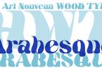 Hwt Arabesque [1 Font] | The Fonts Master
