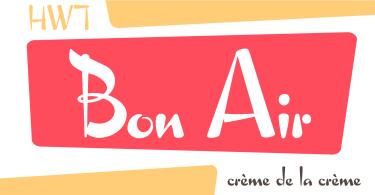 Hwt Bon Air [1 Font] | The Fonts Master