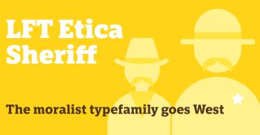 Lft Etica Sheriff Super Family [36 Fonts] | The Fonts Master