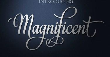 Magnificent [1 Font] | The Fonts Master