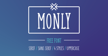 Monly [4 Fonts] - The Fonts Master