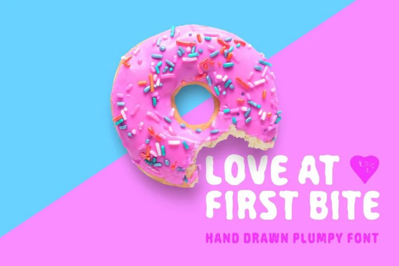 Love At First Bite [1 Font] | The Fonts Master