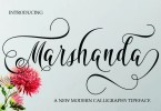 Marshanda [1 Font] | The Fonts Master