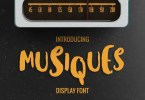 Musiques [1 Font] | The Fonts Master