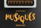 Musiques [1 Font] | The Fonts Master