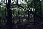 Mystery Crafty [2 Fonts] | The Fonts Master