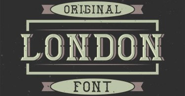 London [6 Fonts] | The Fonts Master