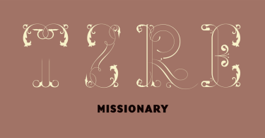 Missionary [1 Font]   The Fonts Master