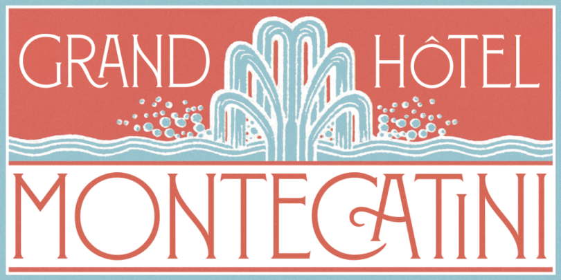 Montecatini [1 Font] | The Fonts Master
