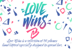 Love Wins [1 Font] | The Fonts Master