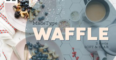 Made Waffle [2 Fonts]   The Fonts Master