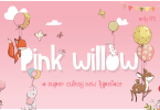 Pink Willow [1 Font] | The Fonts Master