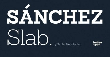 Sanchez Slab [12 Fonts]   The Fonts Master
