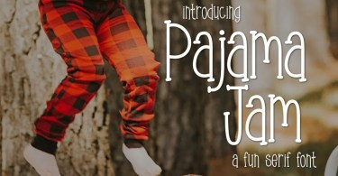 Pajama Jam [1 Font] | The Fonts Master