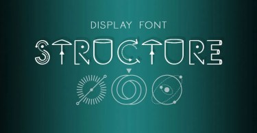 Structure [1 Font] | The Fonts Master