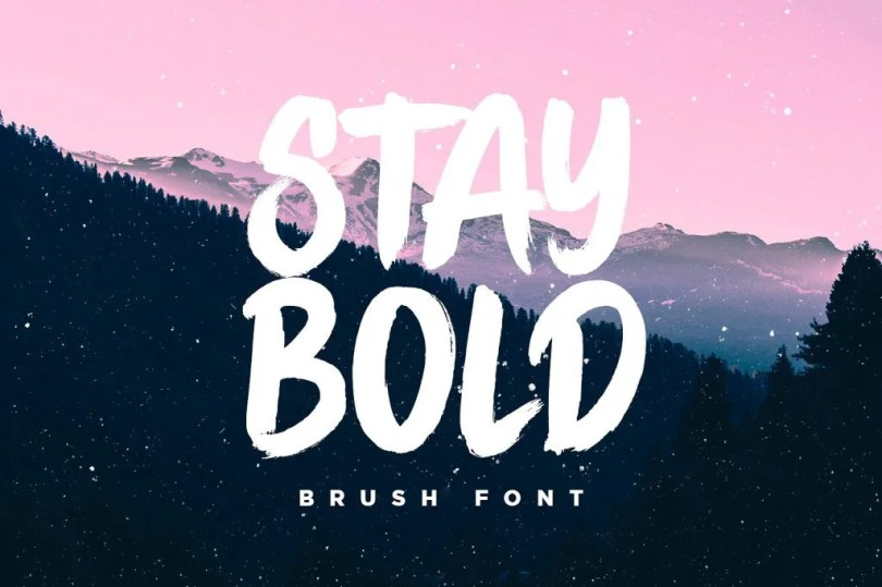 Stay Bold [1 Font]   The Fonts Master