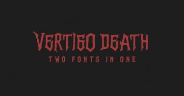 Vertigo Death [1 Font]