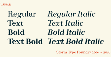 Tusar [32 Fonts] | The Fonts Master