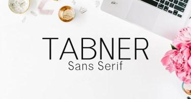 Tabner [6 Fonts] | The Fonts Master