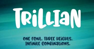 Trillian [3 Fonts] | The Fonts Master