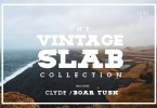 The Vintage Slab Font Collection [8 Fonts] | The Fonts Master