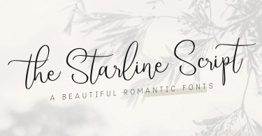 Starline [2 Fonts] | The Fonts Master