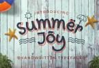 Summer Joy [1 Font + Extras] | The Fonts Master
