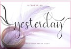 Yesterday [1 Font] | The Fonts Master