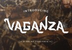Vaganza [1 Font] | The Fonts Master