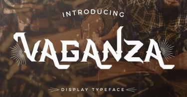 Vaganza [1 Font] | The Fonts Master