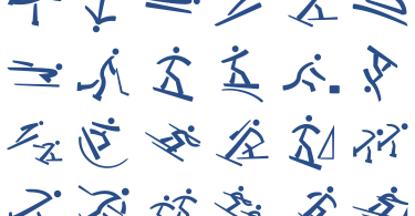 Winter Olympics Pictograms [1 Font] | The Fonts Master