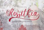 Rossithea [1 Font]   The Fonts Master