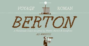 Berton [2 Fonts] | The Fonts Master