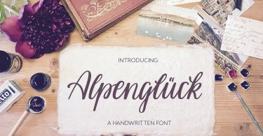Alpenglueck [1 Font]