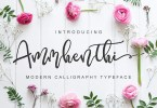 Ammhenthi [1 Font] | The Fonts Master