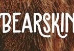 Bearskin [2 Fonts] | The Fonts Master