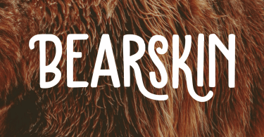 Bearskin [2 Fonts] | The Fonts Master