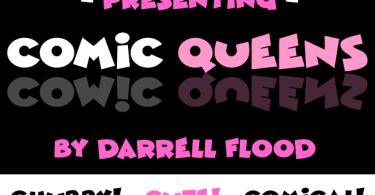 Comic Queens [2 Fonts] | The Fonts Master