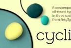 Cyclic [3 Fonts] | The Fonts Master